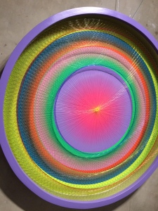 Centrifugal Force of Geometry by Ender Martos, 2015. Photographed at Camiba Art Gallery.