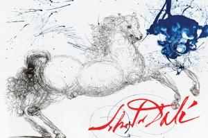 Dalí drawing